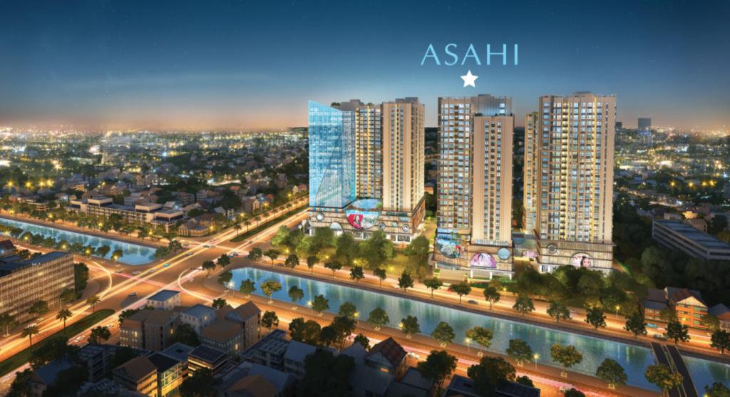 Giá trị sinh lợi vượt trội tại dự án Asahi Towers